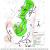 Mapa okrsků výskytu zvířat v rámci radio-telemetricky sledovaného území