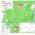 Obrázek 1. Lokalizace studovaných ploch.